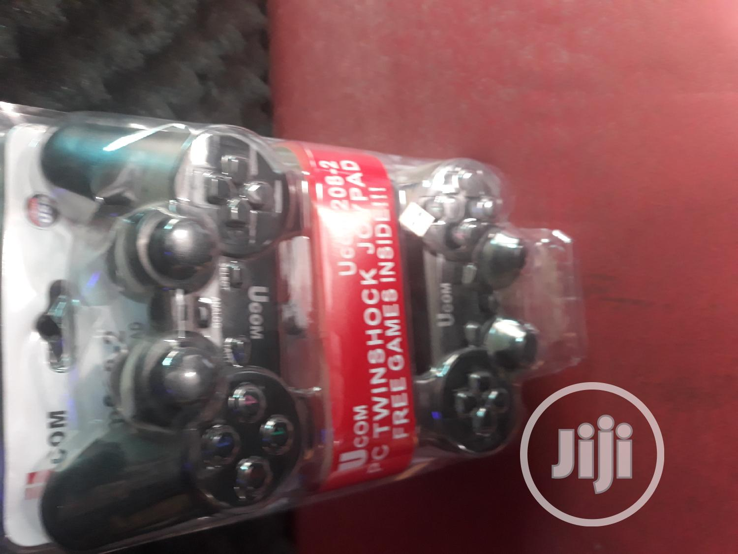 Double Game Pad Twinshock | Accessories & Supplies for Electronics for sale in Calabar, Cross River State, Nigeria