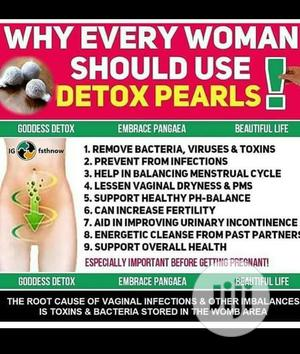 Yoni Detox Pearls Wholesale | Sexual Wellness for sale in Lagos State, Surulere