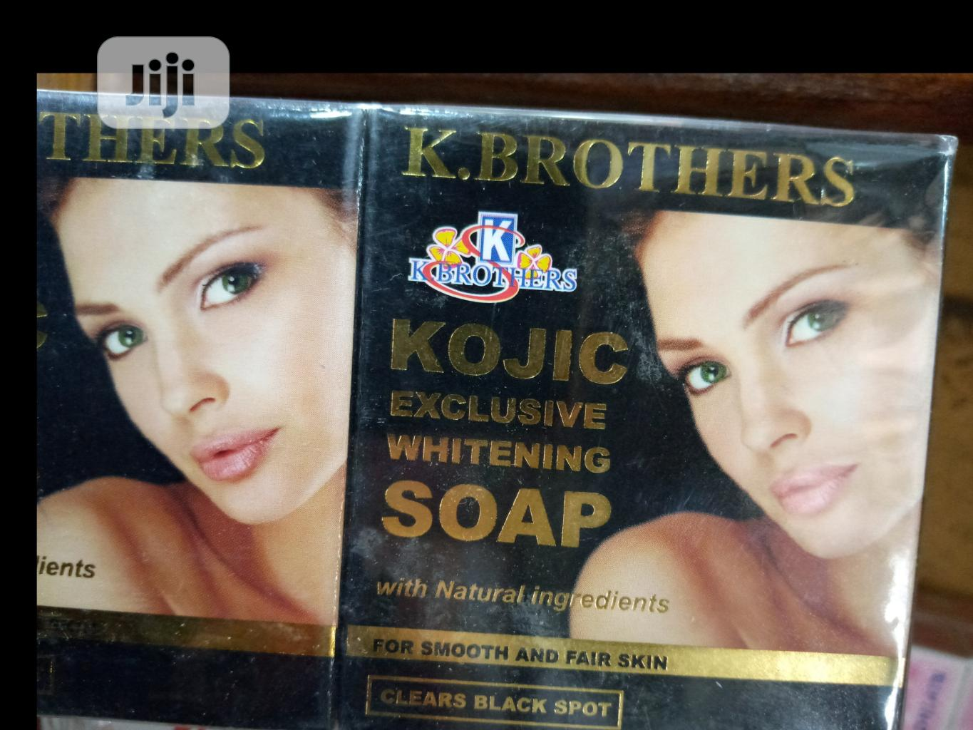 K. Brothers Kojic Exclusive Whitening Soap