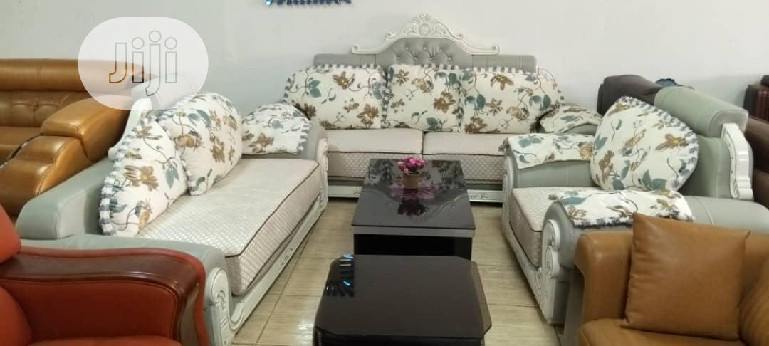 Imported Royal Fabric Sofa   Furniture for sale in Ikeja, Lagos State, Nigeria