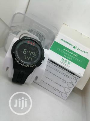 AL-HARAMEEN WORLD PRAYER TIMES Digital Rubber Strap Watch | Watches for sale in Lagos State, Lagos Island (Eko)