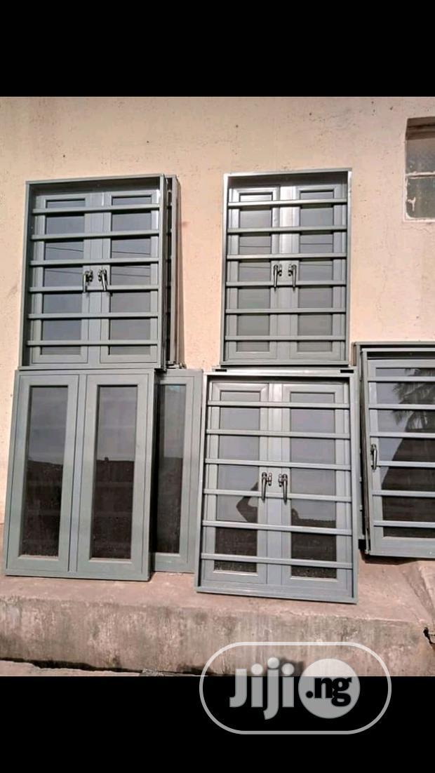 Archive: Casement Window With Burglary Grey