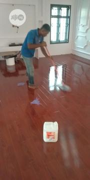 Easy Touch Wood Floor Polishing | Cleaning Services for sale in Lagos State, Magodo