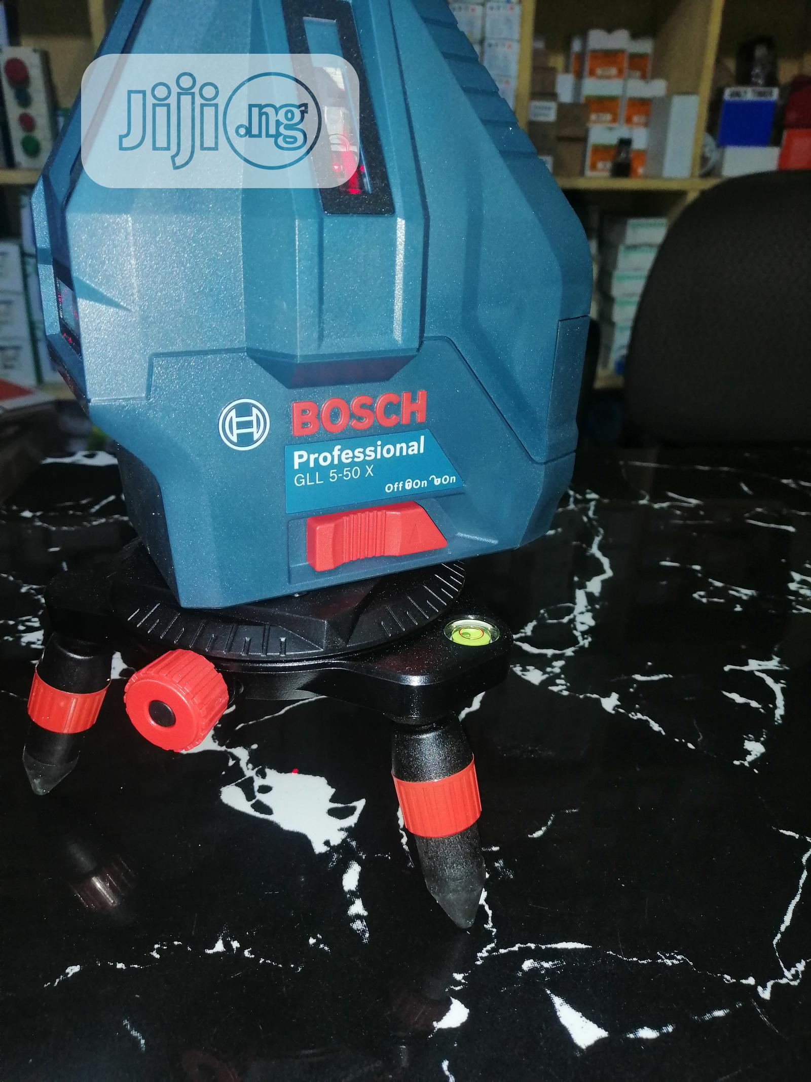 Bosch GLL5-50X Line Leaser | Measuring & Layout Tools for sale in Ojo, Lagos State, Nigeria