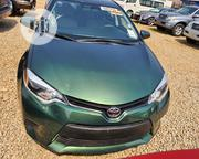 Toyota Corolla 2016 Green | Cars for sale in Abuja (FCT) State, Katampe