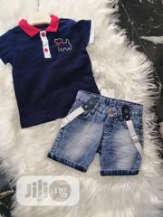 Turkey Boy's T-shirt And Shorts | Children's Clothing for sale in Lagos State, Surulere