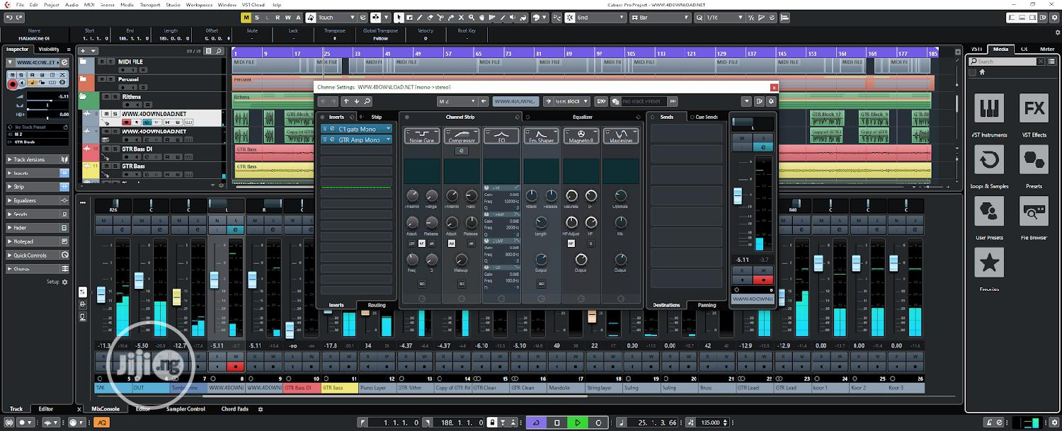 Cubase 10.5 Pro Complete   Software for sale in Lekki Phase 1, Lagos State, Nigeria
