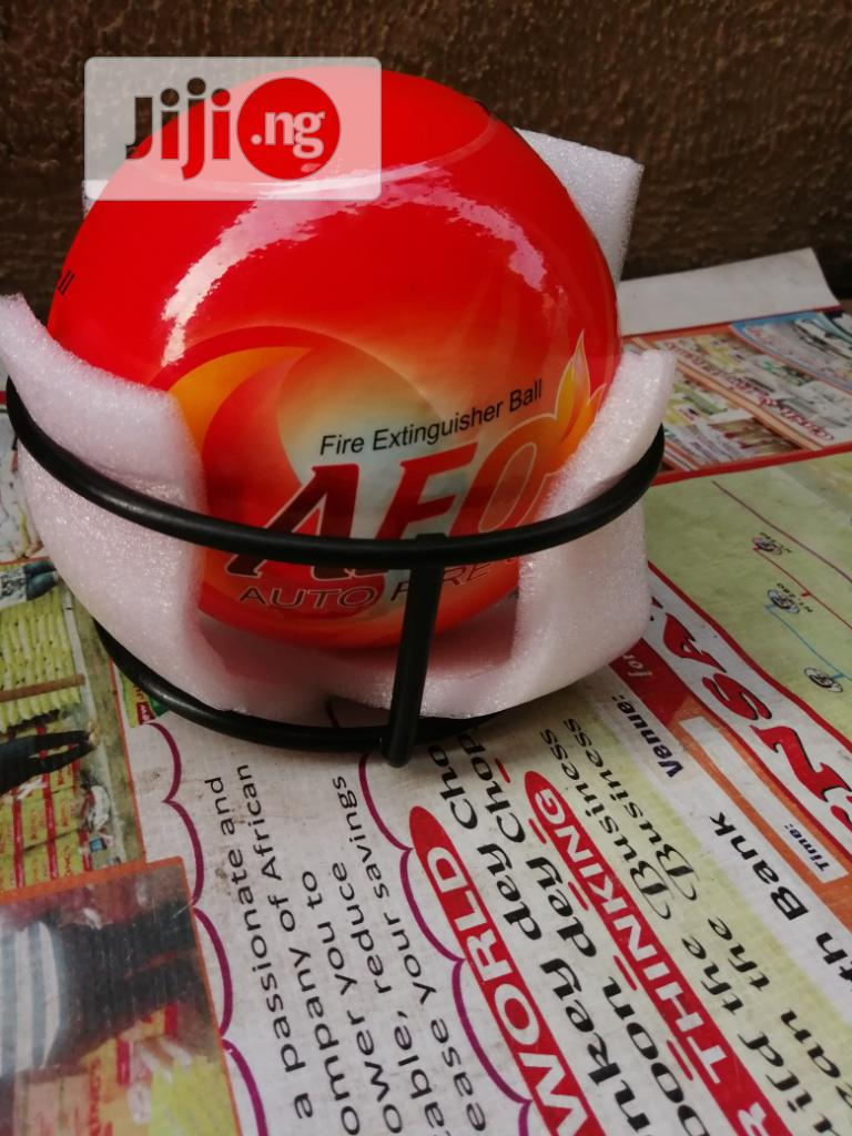 AFO Fire Ball Extinguisher For Your Warehouse And Factories