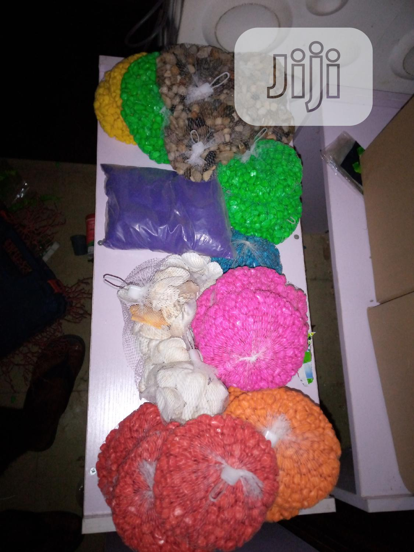 Coloured Stone Supply For Fish Bowl And Aquarium