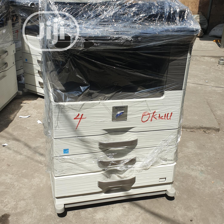 Sharp Mxm 264N(Black White Three in One Printer)   Printers & Scanners for sale in Surulere, Lagos State, Nigeria
