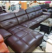 Imported Adjustable Head Rest L Shape Leather Sofa   Furniture for sale in Lagos State, Ikeja