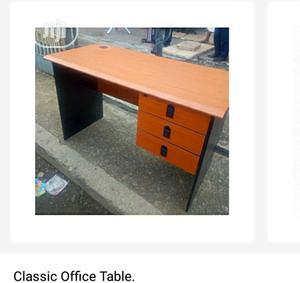 Brand New Imported 4ft Office Table With Side Drawers and Key Lock   Furniture for sale in Lagos State, Yaba