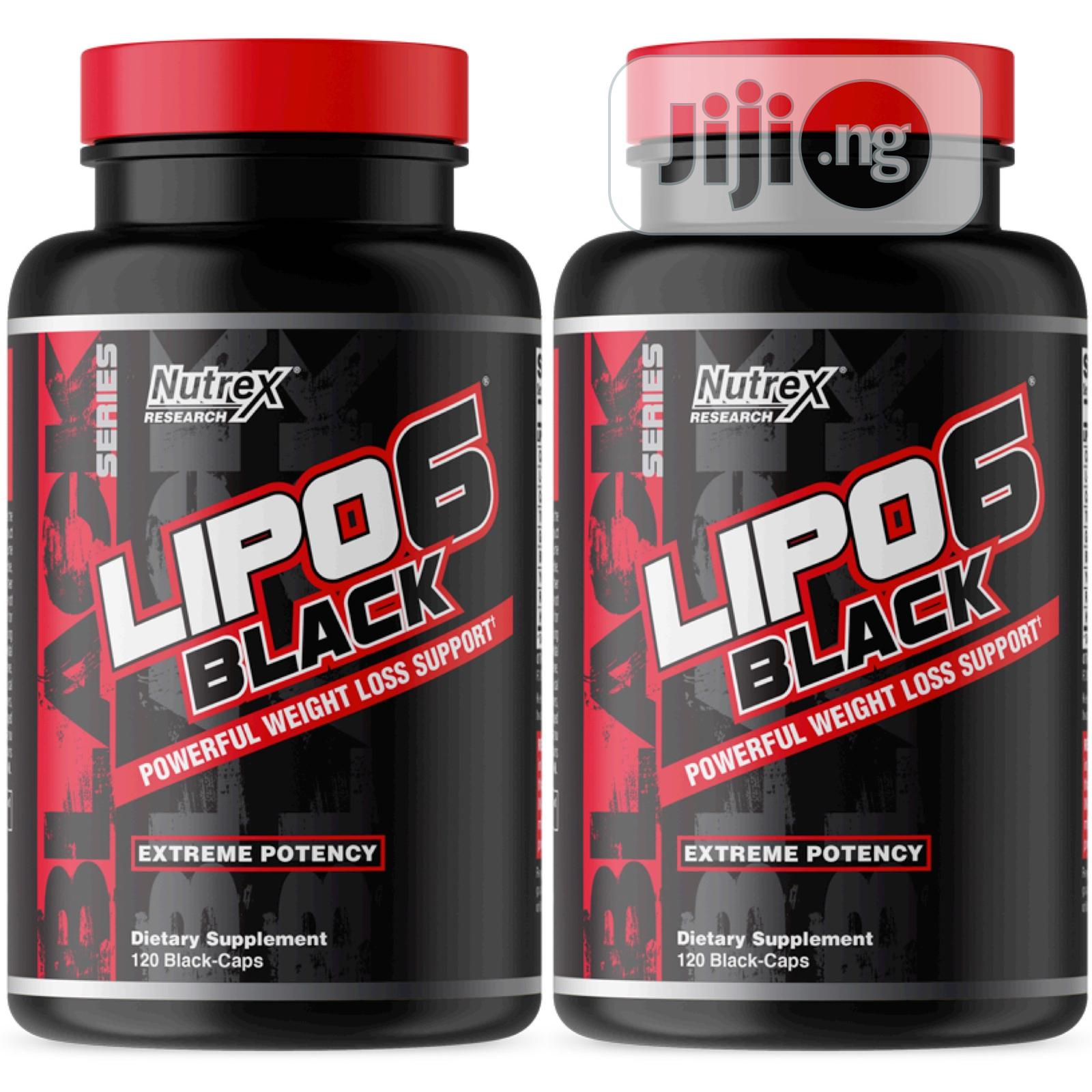 Nutrex Research Lipo-6 Black Ultra Concentrated 30-Caps | Vitamins & Supplements for sale in Ikeja, Lagos State, Nigeria