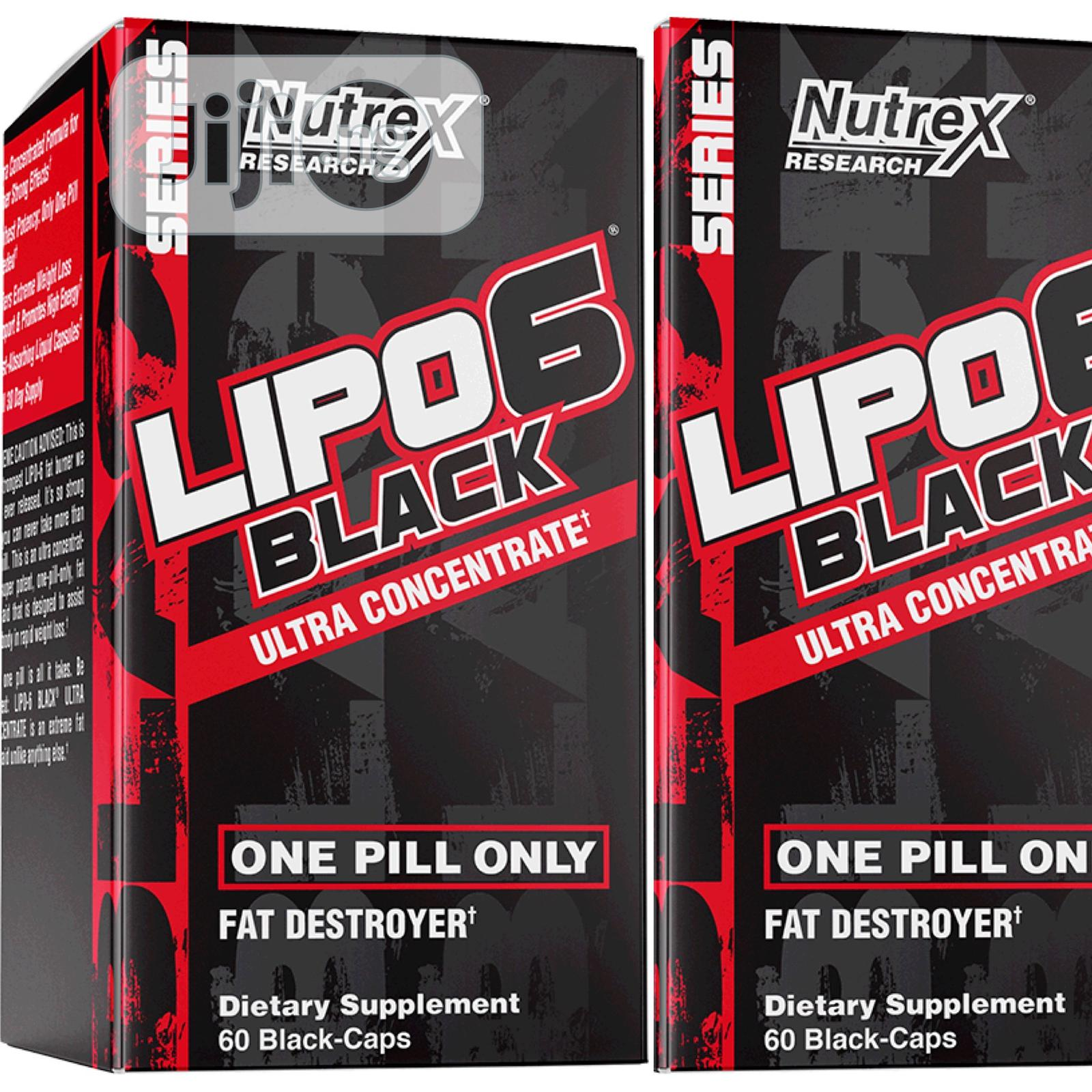 Nutrex Research Lipo-6 Black Ultra Concentrated 30-Caps