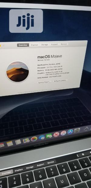Laptop Apple MacBook Pro 16GB Intel Core i9 SSD 512GB | Laptops & Computers for sale in Lagos State, Ikeja