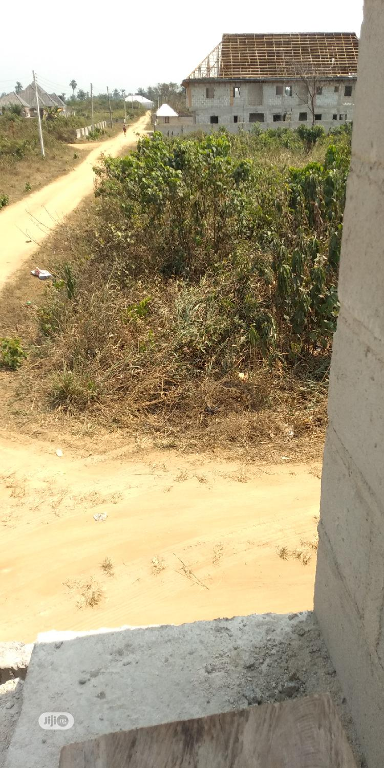 2plots of Land for Sale at Eneka Before Checking Point