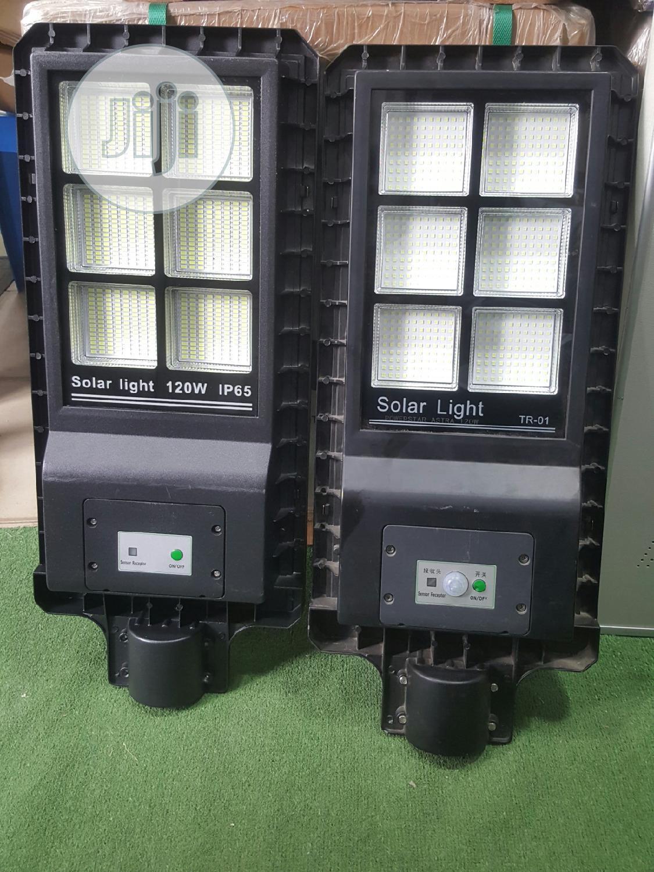 120W Solar All In One Streetlight (Bulk)
