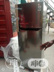 Brand New LG Inverter Refrigerator Double Door Smart Voltage Fast Cool | Kitchen Appliances for sale in Lagos State, Ojo