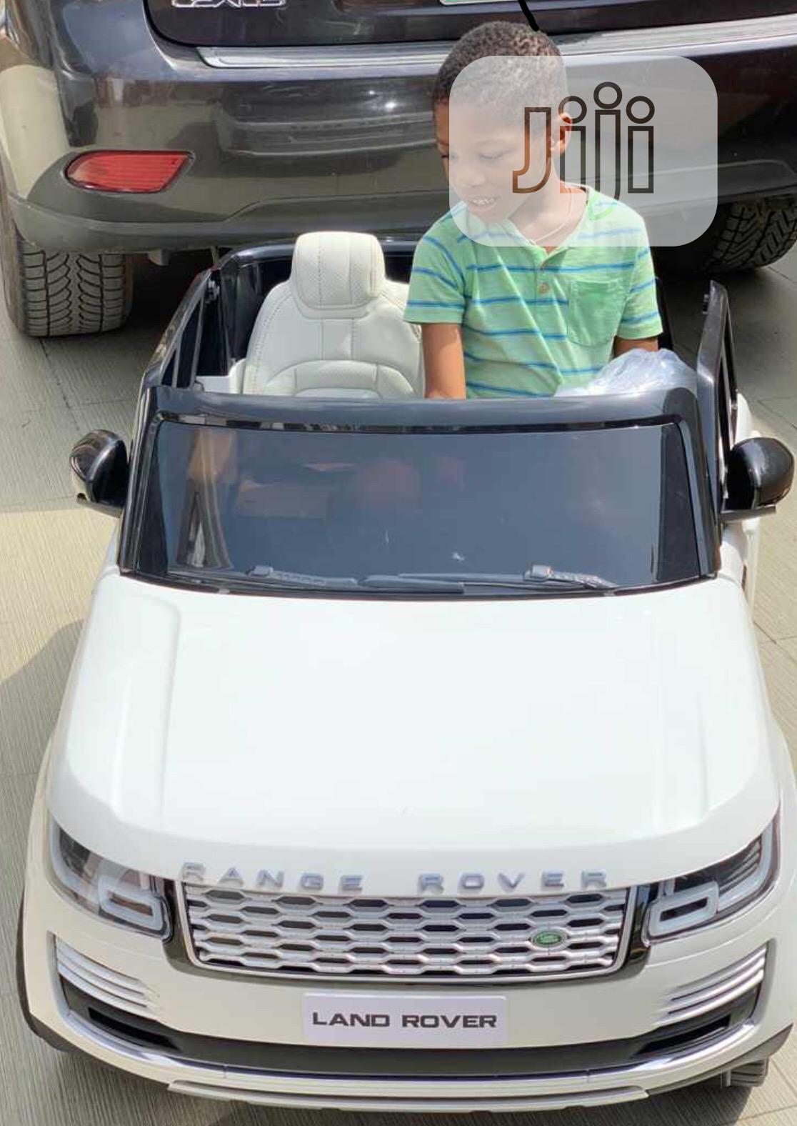 Archive: Range Rover Double Seat Child Automatic Toy Car