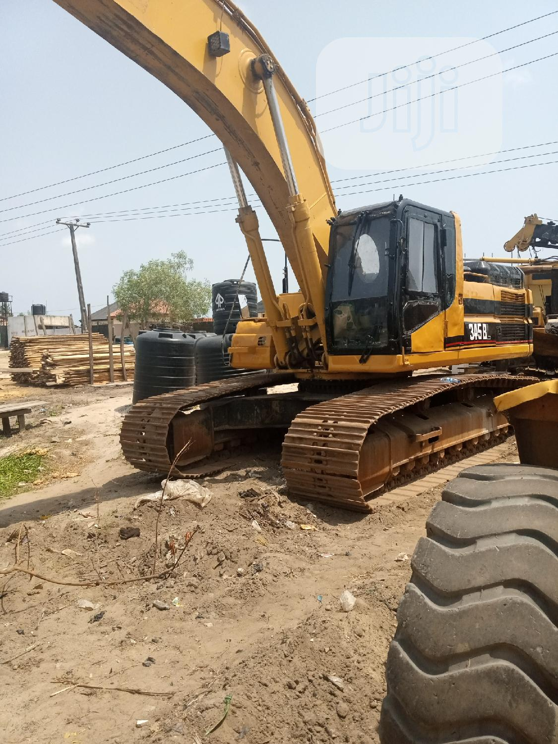 Large 345 Excavator For Sale