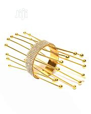 Ladies Spike Design Crystal Bangle - Gold   Jewelry for sale in Lagos State, Amuwo-Odofin