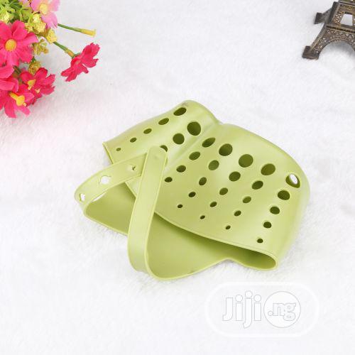 Portable Kitchen Hanging Drain Bag Basket Bath Storage Sink Holder-