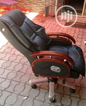 Brand New Imported Reclining Executive Leather Office Chair, Super Prd   Furniture for sale in Lagos State, Yaba