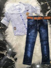 Boy's Two Piece Set | Children's Clothing for sale in Lagos State, Surulere
