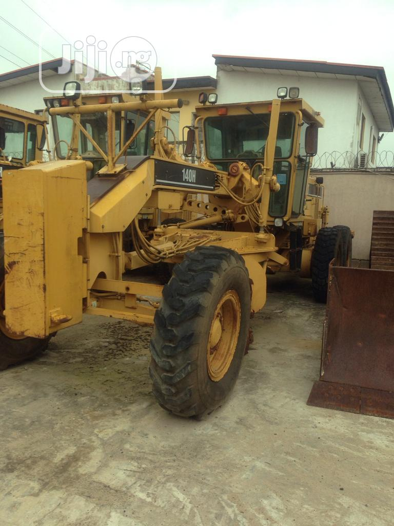 Archive: 140H Grader Is Available For Sale