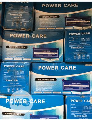 200ah/12volt Power Care Battery | Solar Energy for sale in Lagos State, Ojo