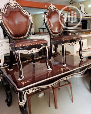 Brand New Royal Cristal Dining Table With 6-Chair   Furniture for sale in Lagos State, Surulere