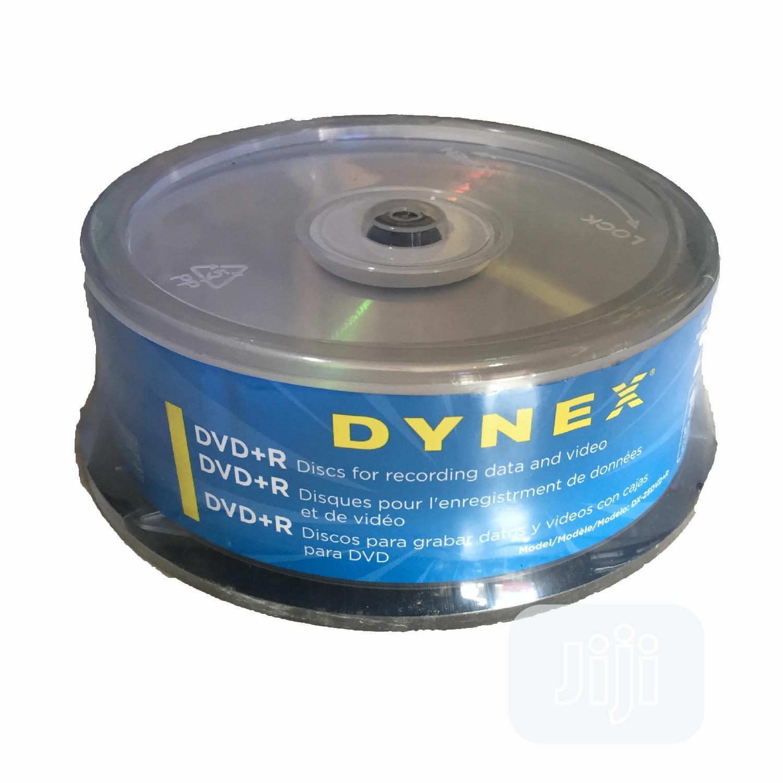 DYNEX DVD+R, 120min,4.7GB, 16x Speed