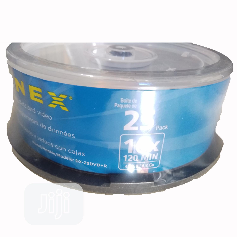 DYNEX DVD+R, 120min,4.7GB, 16x Speed   CDs & DVDs for sale in Ikeja, Lagos State, Nigeria