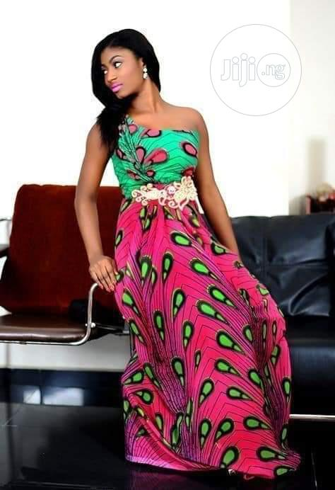 Vintage Ankara Dress | Clothing for sale in Yaba, Lagos State, Nigeria