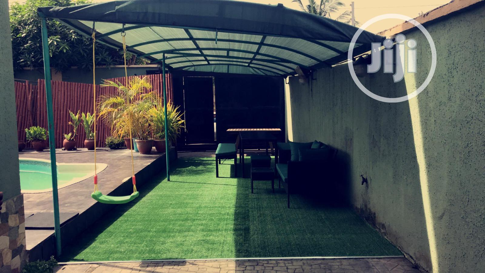 Synthetic Grass Rugs For Private Space For Kids Playground