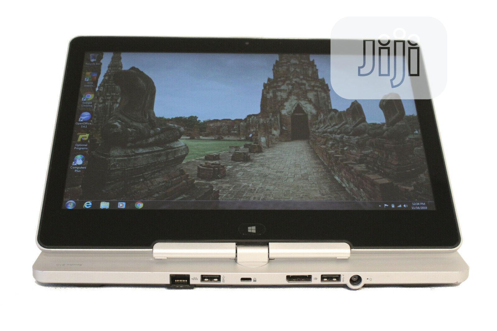 Laptop HP EliteBook Revolve 810 G1 4GB Intel Core I5 SSD 256GB | Laptops & Computers for sale in Bwari, Abuja (FCT) State, Nigeria