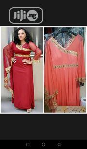 Ceremonial Turkey Long Gown,46/48/50(In Coral Peach,Hanger Colour) | Clothing for sale in Lagos State, Isolo