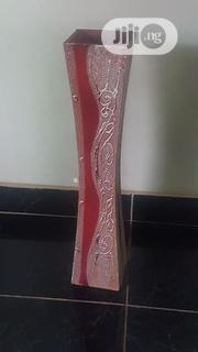 Red With Silver Accent Flower Vase | Home Accessories for sale in Lagos State, Ikeja