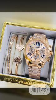 Michael Kors Woman Watch and Bracelets | Watches for sale in Lagos State, Surulere
