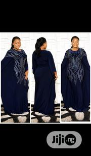 Lovely Fited Butterfly Shape Turkey Long Dress,38-42( Very Stretchy)   Clothing for sale in Lagos State, Isolo