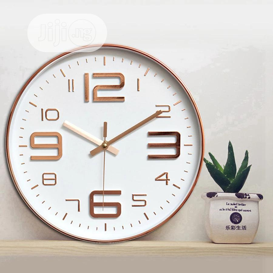Modern Simple Wall Clock | Home Accessories for sale in Lagos Island, Lagos State, Nigeria
