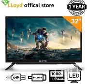 "LLOYD 32"" Full HD TV - Black + Free Wall Bracket | TV & DVD Equipment for sale in Abuja (FCT) State, Wuse"