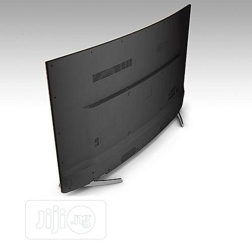 Hisense 55'' Inches Curved Uhd 4K Smart Satellite Tv-55 | TV & DVD Equipment for sale in Wuse, Abuja (FCT) State, Nigeria