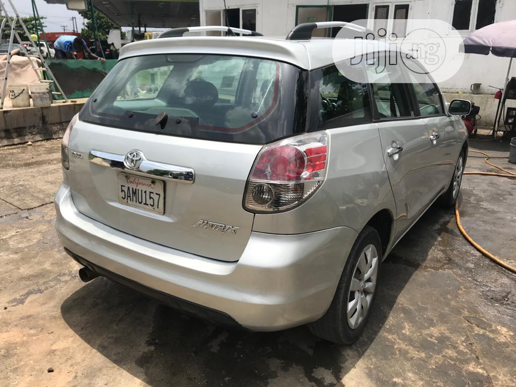 Toyota Matrix 2005 Silver | Cars for sale in Port-Harcourt, Rivers State, Nigeria