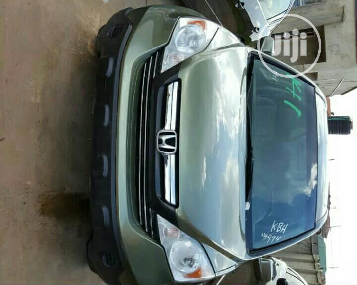 Honda CR-V 2008 2.4 EX-L Automatic Green | Cars for sale in Ibadan, Oyo State, Nigeria
