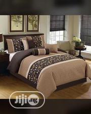 Matured 6x7 Duvet, Bedsheet With 4 Pillow Cases | Home Accessories for sale in Lagos State, Ikeja