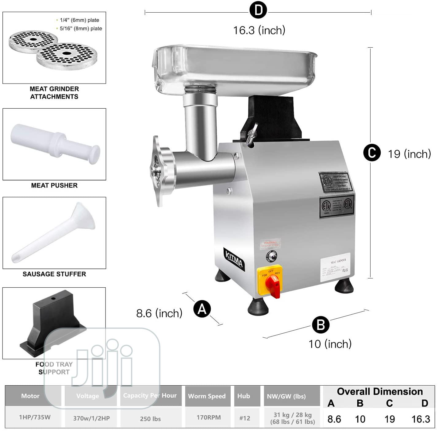 Commercial Meat Grinder & Sausage Stuffer   Restaurant & Catering Equipment for sale in Ojo, Lagos State, Nigeria