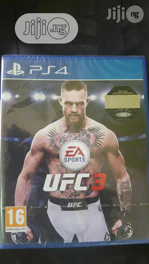 Ufc 3 Ps4 Game Cd | Video Games for sale in Ikeja, Lagos State, Nigeria