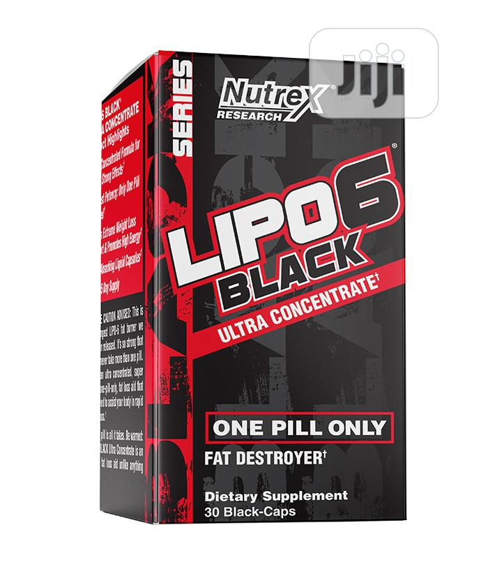 Nutrex Lipo 6 Ultra Concentrate. Fat Destroyer