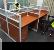 This Is Brand New Quality Four Seaters Workstation It Is Very Strong. | Furniture for sale in Lagos State, Lagos Island